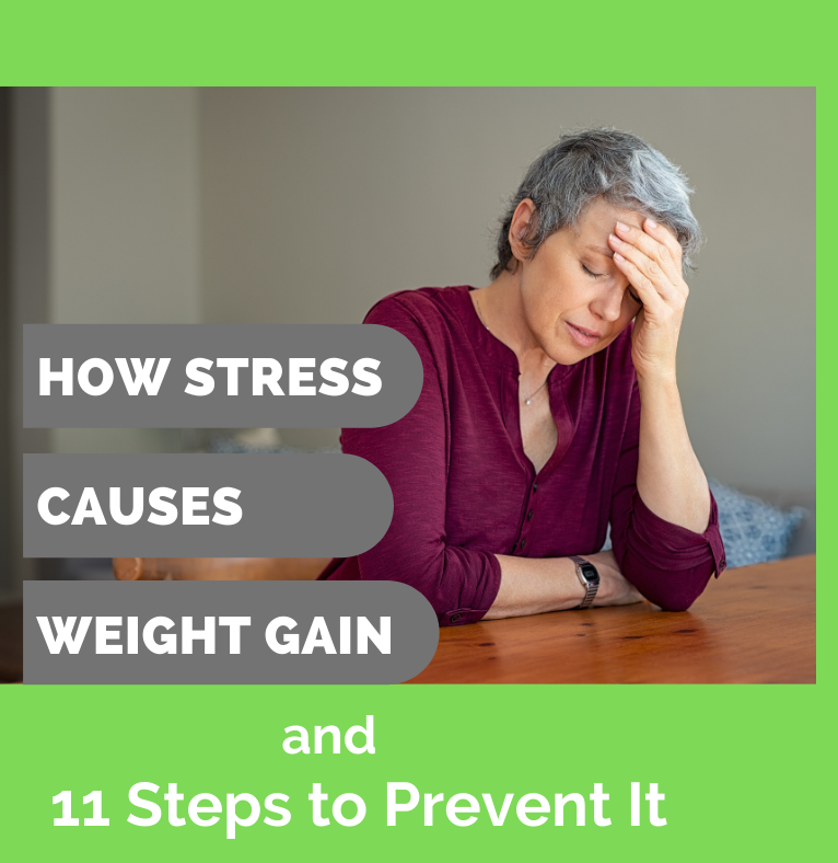 How Stress Causes Weight Gain Image